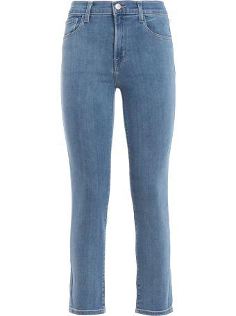 J Brand Ruby High-rise Crop Cigarette Jeans Jb001865aj45516