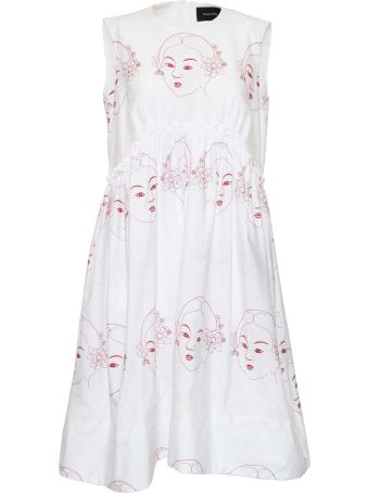 Simone Rocha Sleeveless Flared Dress