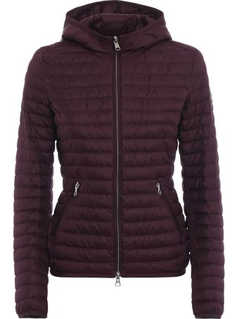 Colmar Hooded Burgundy Puffer Jacket
