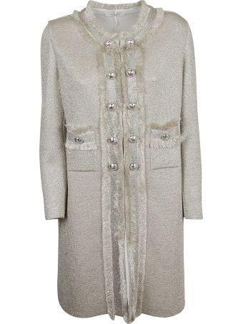 Charlott Charlott Embellished Button Coat