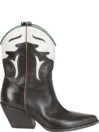 Elena Iachi Almond Toe Ankle Boots