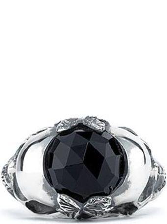 Ugo Cacciatori Double Skull Ring