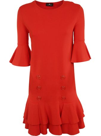 Elisabetta Franchi Celyn B. Elisabetta Franchi For Celyn B. Buttoned Detail Dress