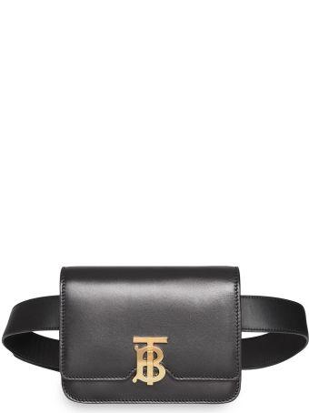 Burberry Logo Plaque Belt Bag