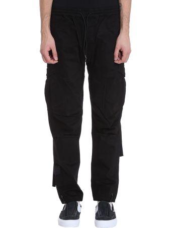 Maharishi Black Cotton Pants