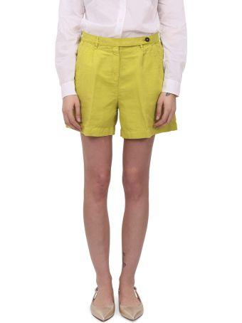 Massimo Alba Green Sardina Shorts