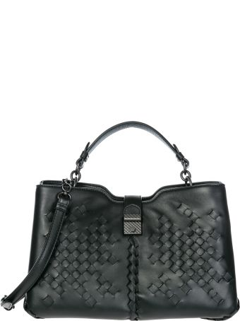 Bottega Veneta  Leather Shoulder Bag Napoli