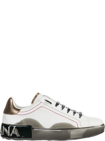 Dolce & Gabbana  Shoes Leather Trainers Sneakers Portofino