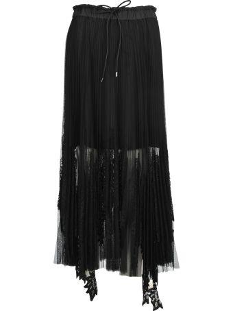Sacai Skirt Long Lace