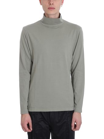 Our Legacy New Box Green Cotton Turtle Neck T-shirt