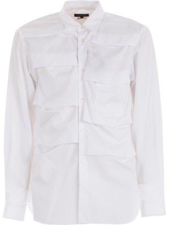Comme Des Garçons Homme Plus Folded Stripe Shirt