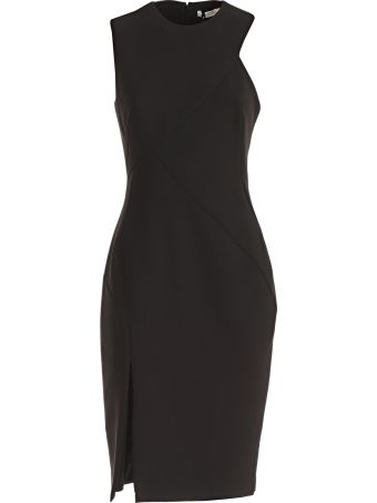 Versace Collection Front Slit Dress