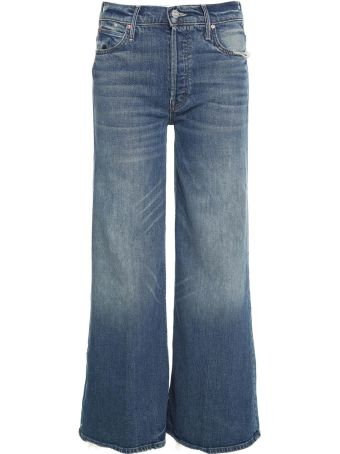 Mother The Stunner Roller High-rise Jeans
