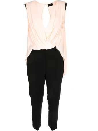 Elisabetta Franchi Celyn B. Wrap Style Jumpsuit