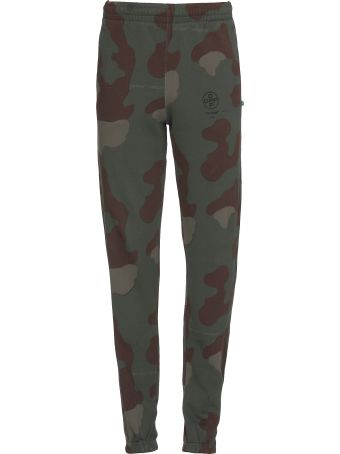 Off-White Stencil Camouflage Trousers