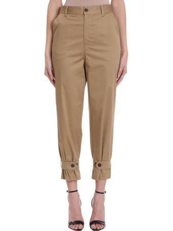 Mauro Grifoni Beige Cotton Pants