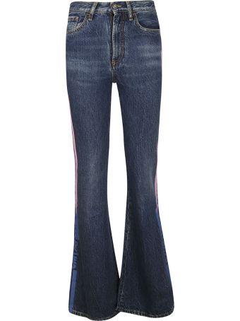 Marcelo Burlon Side Striped Jeans