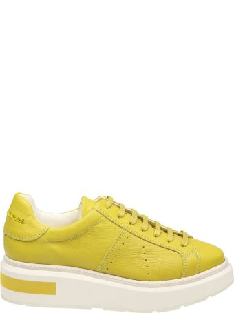 Manuel Barcelò Manuel Barcelo 'sneakers In Leather Color Yellow