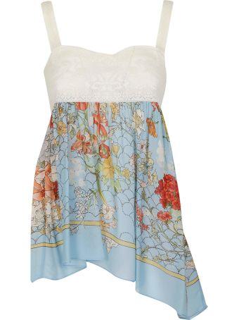 SEMICOUTURE Floral Short Dress