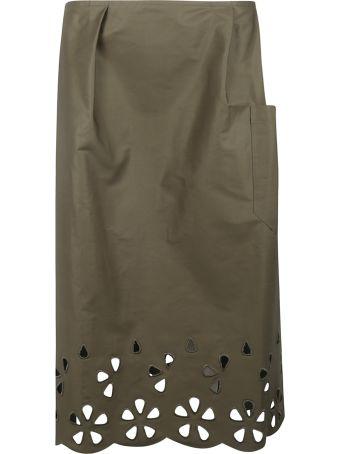 Sofie d'Hoore Cut-out Detail Skirt