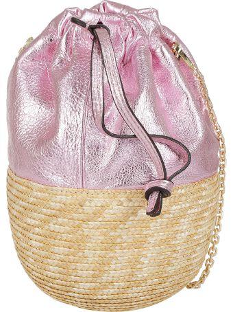 Gianni Chiarini Braided Bucket Bag