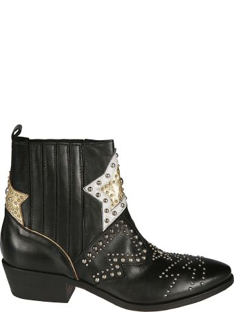 Strategia Studded Ankle Boots