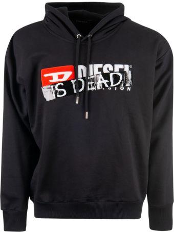 Diesel Is Dead Print Sweatshirt