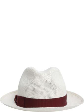 Borsalino Medium Brimmed Panama Quito Jacquard Hat