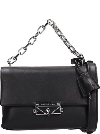 Michael Kors Black Leather Xs Bag