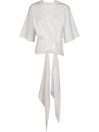 SSHEENA White Cotton T-shirt