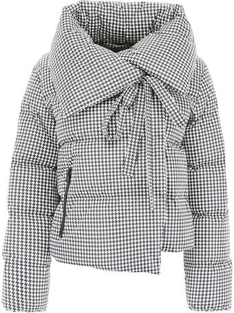 Bacon Clothing Houndstooth Puffer Jacket