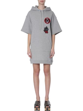 McQ Alexander McQueen Hooded Dress