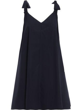 Blugirl Flared V-neck Dress