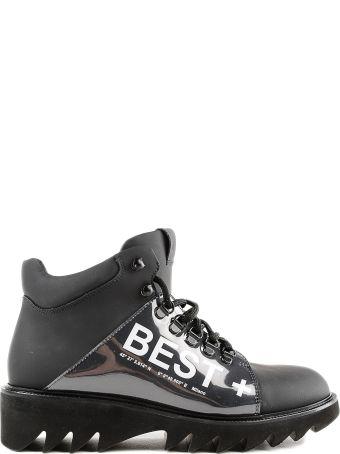 Moreschi Ridged Sole Boots