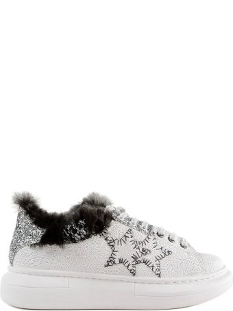 2Star 2 Star Fur And Glittered Sneakers