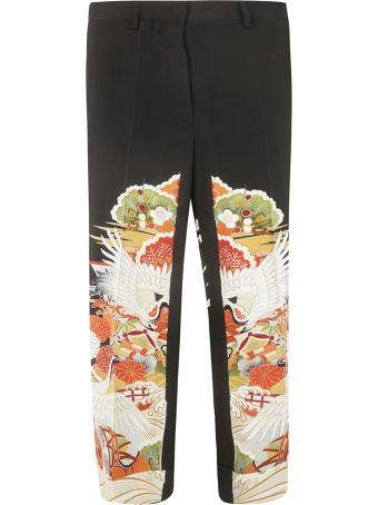 Ibrigu Printed Trousers