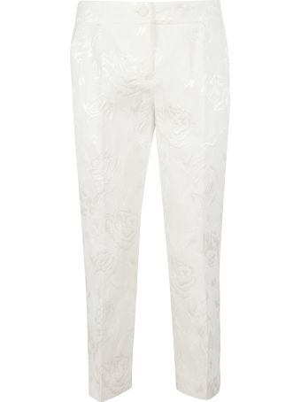 Dolce & Gabbana Floral Trousers
