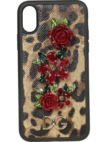 Dolce & Gabbana Embellished Iphone X Case