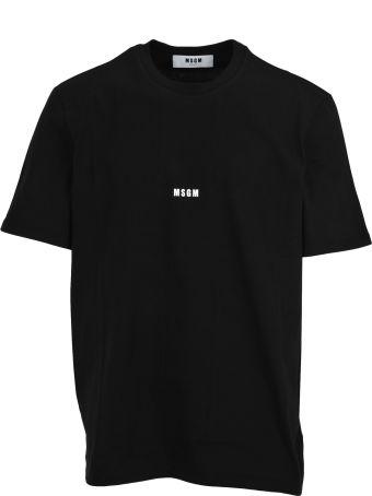 MSGM Tshirt Logo Micro