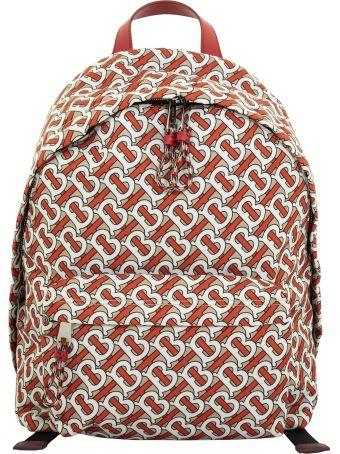Burberry Jett Tb Monogram Print Nylon Backpack