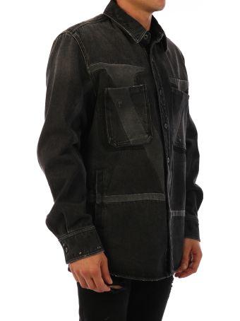 Valentino Denim Shirt Black