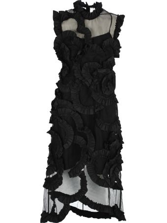 Moncler By Simone Rocha Moncler By Simone Rocha Ruched Dress