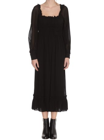 Proenza Schouler Square Neck Dress