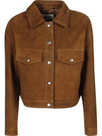 Dondup Back Frayed Detail Jacket