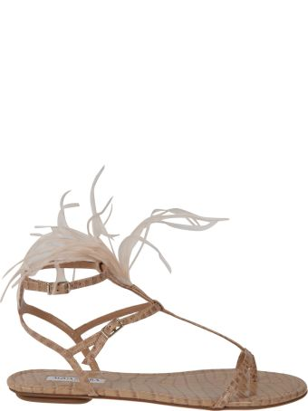 Aquazzura Ponza Flat Sandals