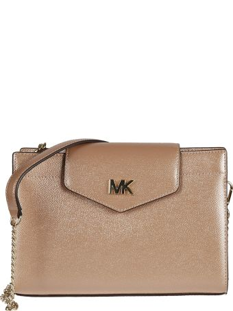 Michael Kors Logo Plaque Clutch