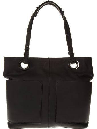 """Gianni Chiarini Black Leather Bag """"athena"""""""