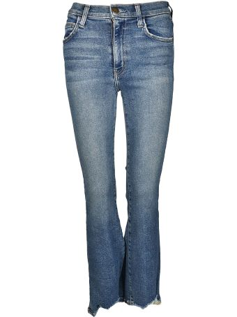 Current/Elliott High Waist Kick Jeans