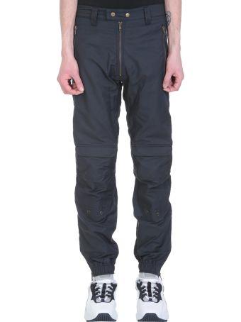 GMBH Biker Navy Cotton Pants