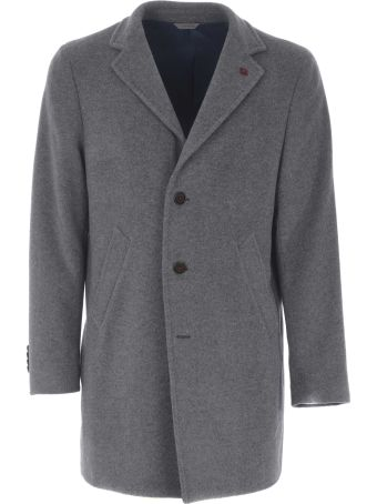 Manuel Ritz Single Breasted Oversized Coat